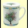 Taza Infusora Tisanera de Porcelana Griffin - Cha Cult - 250 ml