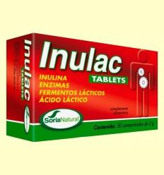 Inulac Tablets - Digestión - Soria Natural - 30 comprimidos