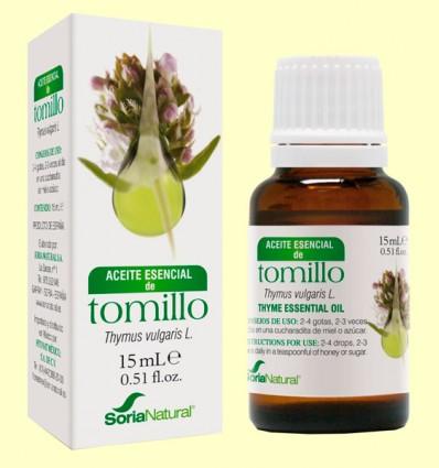 Aceite Esencial de Tomillo - Soria Natural - 15 ml
