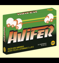 Avifer - Ayuda contra las anemias - Robis - 30 comprimidos
