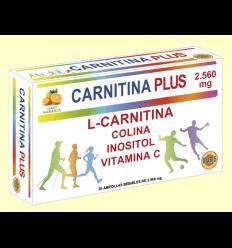 Carnitina Plus - Robis - 20 ampollas