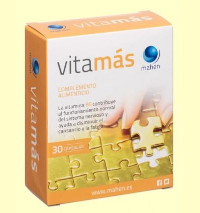 Vitamas - Tónico y Energético - Mahen - 30 cápsulas