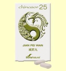 Chinasor 25 - JIAN FEI WAN - Soria Natural - 30 comprimidos