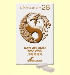 Chinasor 28 - DAN ZHI XIAO YAO WAN - Soria Natural - 30 comprimidos