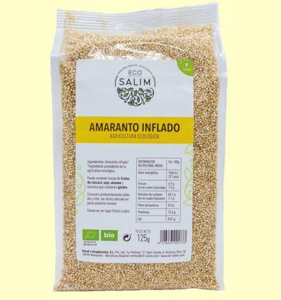 Amaranto Hinchado Ecológico - Eco-Salim - 125 gramos