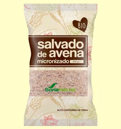 Salvado de Avena Micronizado Bio - Soria Natural - 250 gramos