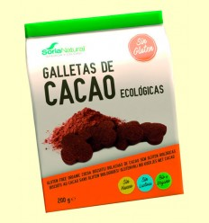 Galletas de Cacao Bio - Soria Natural - 200 gramos