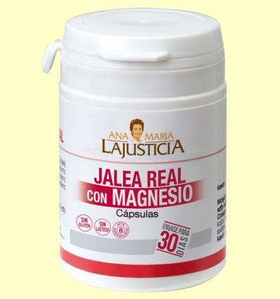Jalea Real con Magnesio - Ana María Lajusticia - 60 cápsulas