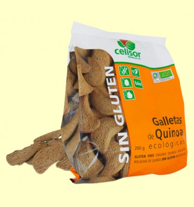 Galletas de Quinoa Bio - Soria Natural - 200 gramos