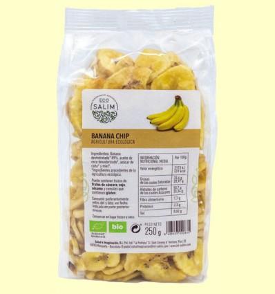 Banana Chips Deshidratada Ecológica - Eco-Salim - 250 gramos