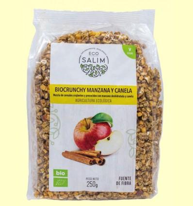 Bio Crunchy Manzana y Canela - Eco-Salim - 250 gramos