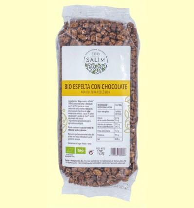 Bio Espelta con Chocolate - Eco-Salim - 125 gramos