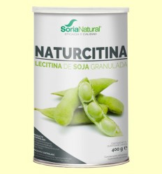 Naturcitina - Lecitina de Soja Granulada - Soria Natural - 400 gramos