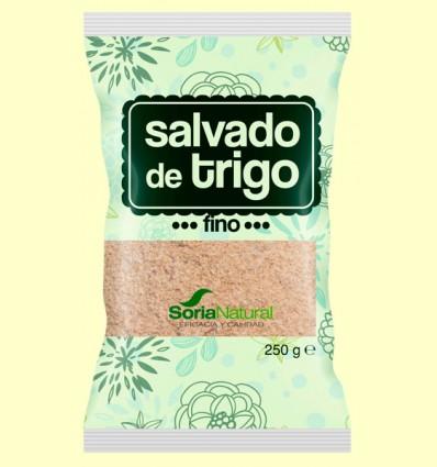 Salvado de Trigo Fino - Soria Natural - 250 gramos