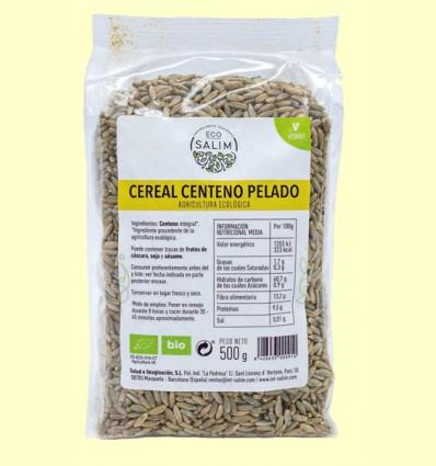 Centeno Integral Pelado Ecológico - Eco-Salim - 500 gramos