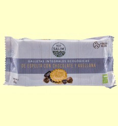 Galletas Integrales Ecológicas de Espelta con Chocolate y Avellanas - Eco-Salim - 80 gramos