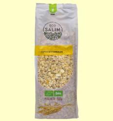 Copos integrales 5 cereales ecológicos - Eco-Salim - 500 gramos