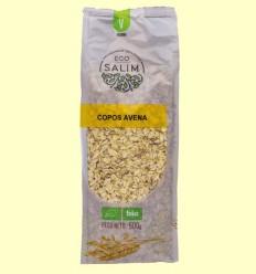 Copos integrales de avena ecológicos - Eco-Salim - 500 gramos