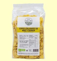 Copos Crujientes de Maíz y Quinoa - Eco-Salim - 250 gramos
