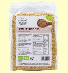 Semillas de Lino Oro ecológico - Eco-Salim - 500 gramos