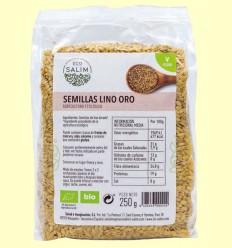 Semillas de Lino Oro ecológico - Eco-Salim - 250 gramos