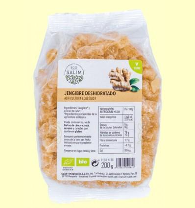 Jengibre Deshidratado Bio - Eco Salim - 200 gramos