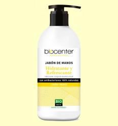 Jabón de Manos de Limón y Menta Bio - Hidratante y Refrescante - Biocenter - 500 ml