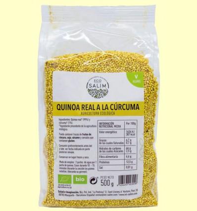 Quinoa Real a la Cúrcuma - Eco-Salim - 500 gramos