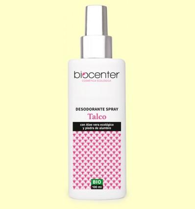 Desodorante Talco en Spray Bio - Biocenter - 100 ml