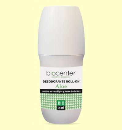 Desodorante Aloe en Roll On Bio - Biocenter - 75 ml