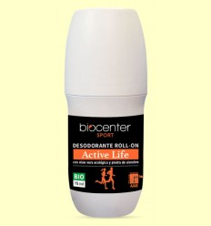 Desodorante Active Life en Roll On Bio - Biocenter - 75 ml