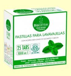 Pastillas de Lavavajillas Bio - Biocenter - 25 pastillas
