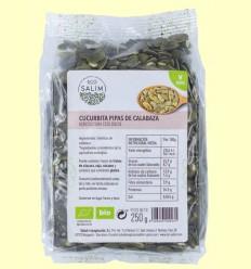 Cucurbita - Semillas de calabaza Ecológica - Eco-Salim - 250 gramos