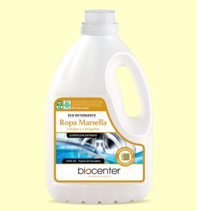 Ecodetergente Ropa Marsella Bio - Mano y Maquina - Biocenter - 2 litros
