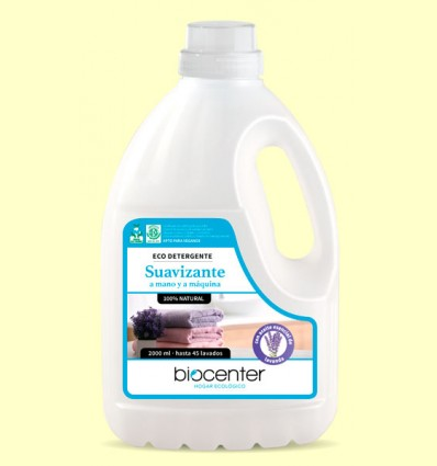 Ecodetergente Ropa Lavanda Bio - Lavadora - Biocenter - 2 litros
