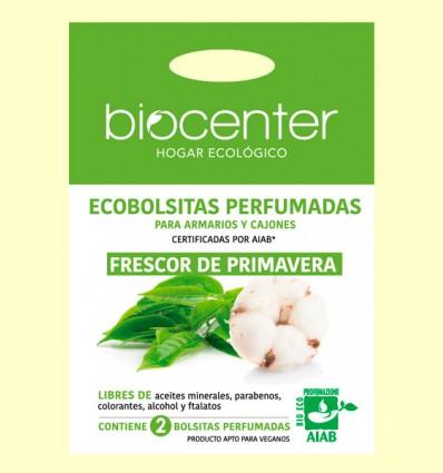 Bolsitas Perfumadas de Armario Bio - Frescor de Primavera - Biocenter - 2 bolsitas