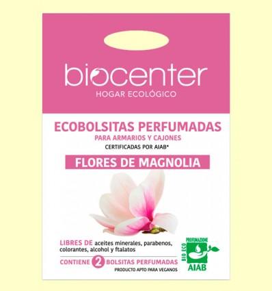 Bolsitas Perfumadas de Armario Bio - Flores de Magnolia - Biocenter - 2 bolsitas