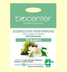 Bolsitas Perfumadas de Armario Bio - Té Blanco - Biocenter - 2 bolsitas