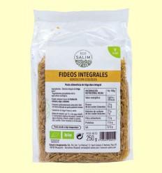 Fideos Integrales Ecológicos - Eco-Salim - 250 gramos