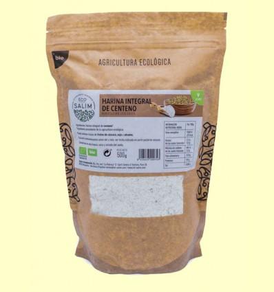 Harina Integral de Centeno Bio - Eco-Salim - 500 gramos