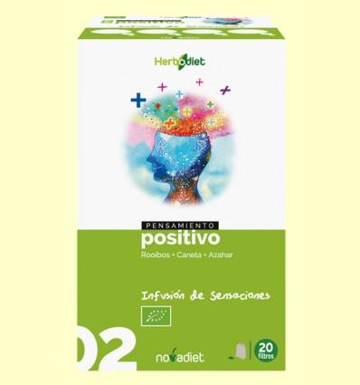 Pensamiento Positivo - Infusión de Roiboos Canela y Azahar Bio - Novadiet - 20 filtros