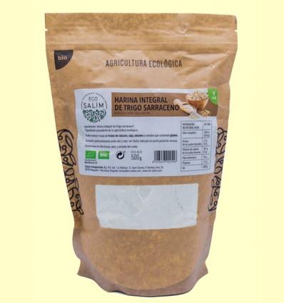 Harina Integral de Trigo Sarraceno Eco - Eco-Salim - 500 gramos