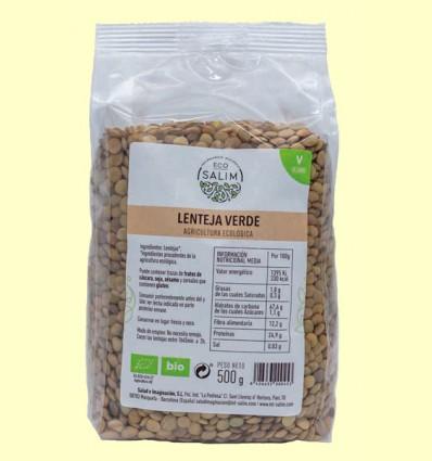 Lenteja Verde Ecológica - Eco-Salim - 500 gramos