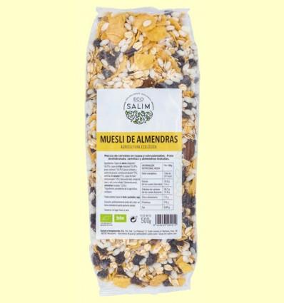 Muesli de Almendras Ecológico - Eco-Salim - 500 gramos
