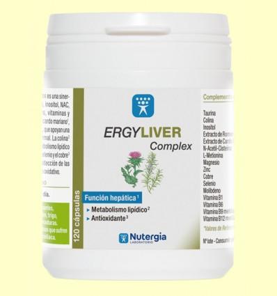 Ergyliver Complex - Nutergia - 120 cápsulas