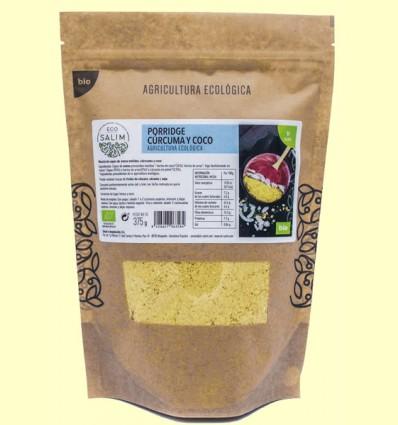 Porridge Cúrcuma y Coco Bio - Eco-Salim - 375 gramos