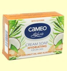 Jabón en Pastilla Hidratante con Coco y Almendra - Cameo - Biofresh - 100 gramos