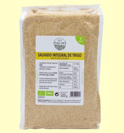 Salvado de Trigo Integral Ecológica - Eco-Salim - 500 gramos