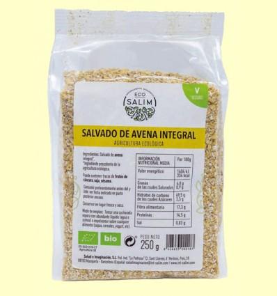 Salvado de Avena integral Ecológico - Eco-Salim - 250 gramos