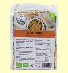 Sopa de Quinoa Ecológica - Eco-Salim - 250 gramos